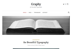 Graphy WordPress Theme