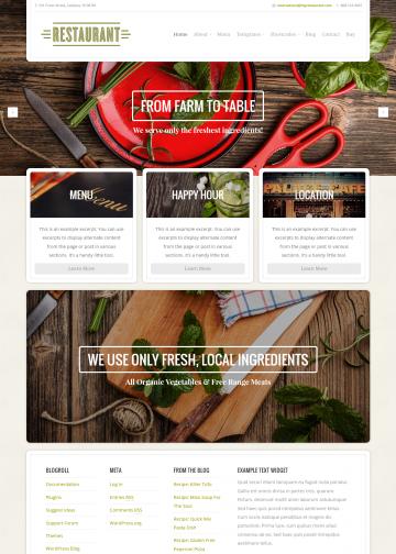 organicthemes.com-demo-restaurant