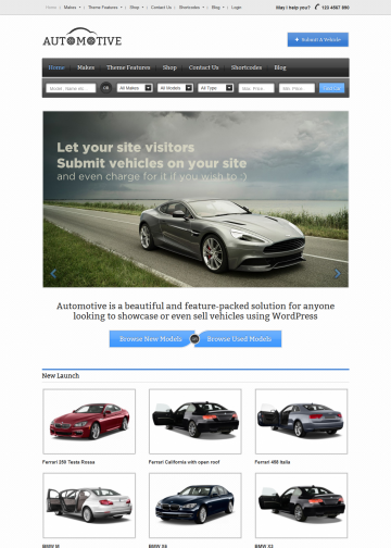 templatic.com-demos-automotive