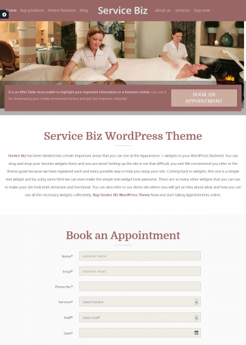 templatic.com-demos-service-biz