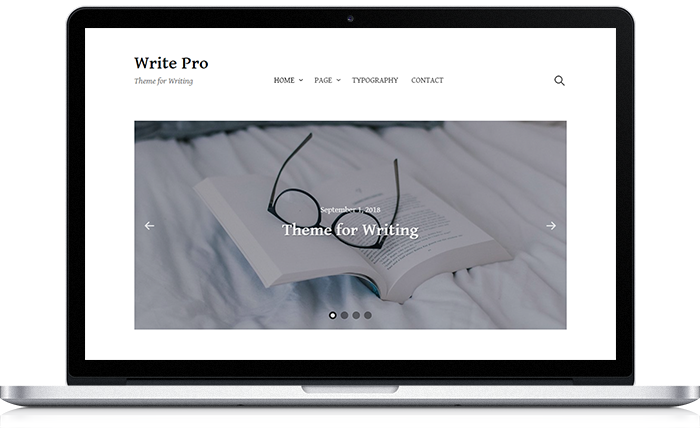 Write Pro WordPress Theme